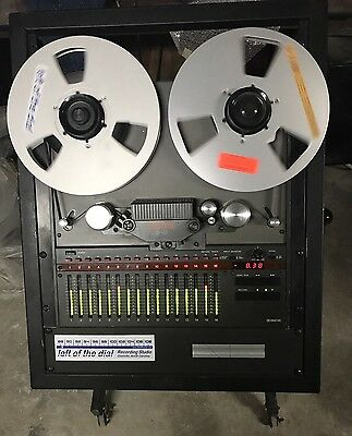 Fostex B-16 with stand and remote and MRL tape (Local Pick Up Only)