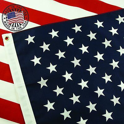 US American Flag Made in USA 3x5 Patriotic Stripes Stars High Quality Heavy Duty