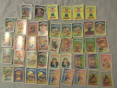 42 card lot Garbage Pail Kids Series 3. Frank N. Stein, 4 Joe Blow cards. etc