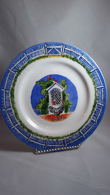 "ANDREA BY SADEK WILLIAMSBURG Matthew Rice 8""  SALAD PLATE"