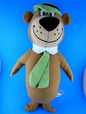 "Yogi Bear Plush 13.5"" Hanna Barbera 2010"