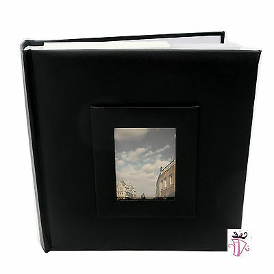 200 Photo Slip In Archival Quality Photo Album Black Cover 4 x 6in (10x15cm)
