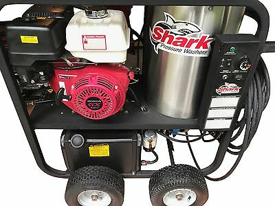 Shark SGP-353037 4,000 PSI 3.5 GPM Honda  Hot Water PRESSURE WASHER - HOTSY