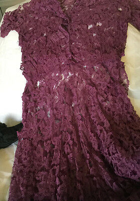 vintage and antique lace items