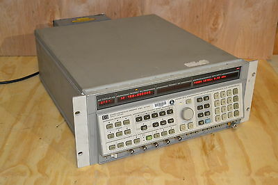HP Agilent 8340B Synthesized Sweeper Generator 26.5GHz