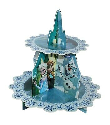 (Cupcake Stand) - Disney Frozen Cupcake Stand. Shipping Included