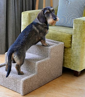 Handmade Dog Steps Indoor Pet Cat Dog Bed Sofa Steps Stairs Ramp Portable Strong