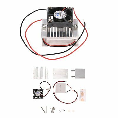 KKmoon DIY Kit Thermoelectric Peltier Cooler Refrigeration Cooling System Heat +