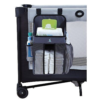 hiccapop Playard Nursery Organizer and Diapers Organizer   Baby Diaper Caddy    