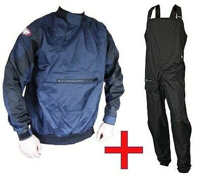(Colour May Vary, Junior) - Junior Dry Trousers AND Dry Cag Spray top. Crewsaver
