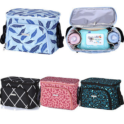 Baby Stroller Buggy Hanging Bag Organizer Feeding Bottle Diaper Holder Net Case