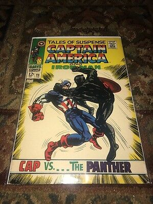 Tales Of Suspense 98   Black Panther  Kirby  Captain America