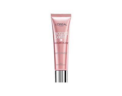 ENLUMINEUR L'Oréal ACCORD PARFAIT HIGHTLIGHT FLUIDE NEUTRE ROSE GLOW 201