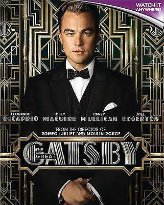 THE GREAT GATSBY * Digital HD Ultraviolet UV Code ONLY * Instant despatch! 24/7