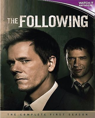THE FOLLOWING - COMPLETE SEASON 1 * Digital Ultraviolet UV Code ONLY * Instant!