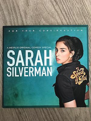 SARAH SILVERMAN A SPECK OF DUST Emmy FYC DVD the complete Netflix comedy special