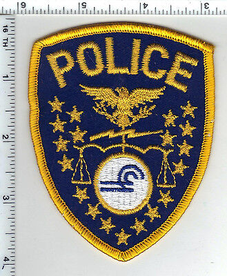 Conrail Police Shoulder Patch - obsolete from the 1980's