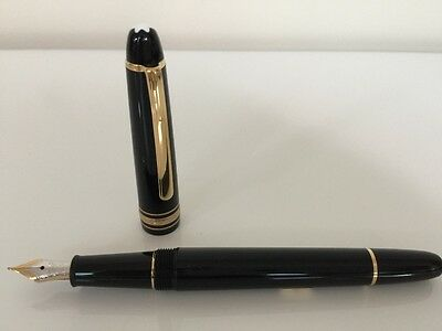 Montblanc Meisterstuck Fountain Pen New Authentic