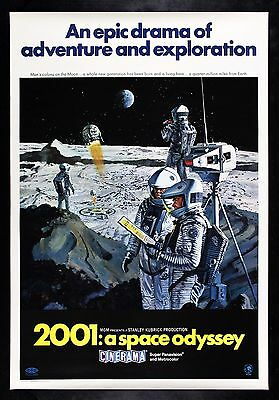 2001 A SPACE ODYSSEY ✯ CineMasterpieces ROLLED MOVIE POSTER CINERAMA KUBRICK
