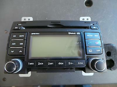 Hyundai I30 Radio/cd/dvd/sat/tv Mp3/wma/aux/cd Player, With Bluetooth Type, Fd,