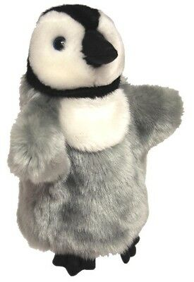 *NEW* CHILDREN HAND PUPPET CHICK EMPEROR PENGUIN SOFT TOY 25cm/10inch
