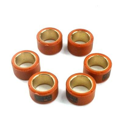 6X Roller Weights 9 Gram Performance GY6 125 150 Chinese Scooter 18X14mm