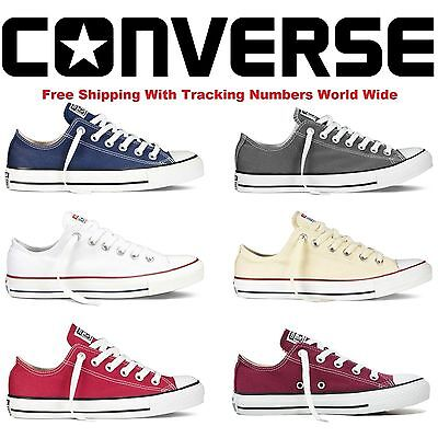 New Convers Lo Top Mens Womens Unisex Low Tops Chuck Taylor Trainers Shoes