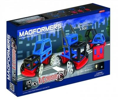 MAGFORMERS R/C Cruisers 42 Piece Set Playset. Delivery is Free