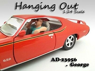 """""""Hanging Out"""" George Figure For 1:24 Scale Models by American Diorama 23956"""