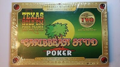 Texas Hold'em & Caribbean Stud Game. TDC Games. Free Shipping