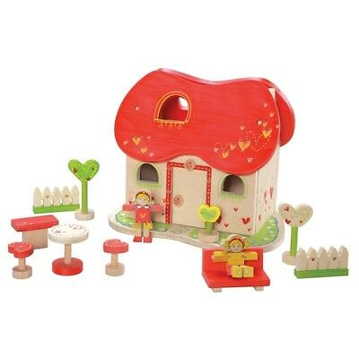 (1, Red) - EverEarth Fairy Tale Doll House. Shipping is Free