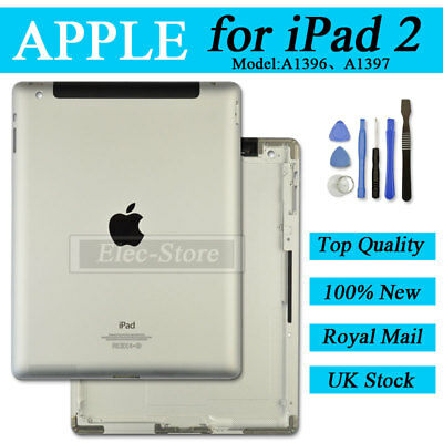 Back Battery Cover For iPad 2 A1396 A1397 3G Replacement Housing New Rear Case