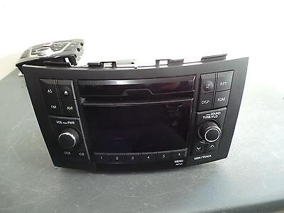 Suzuki Swift Radio/cd/dvd/sat/tv Cd Player, Non Bluetooth Type, Fz, 02/11- 11 12