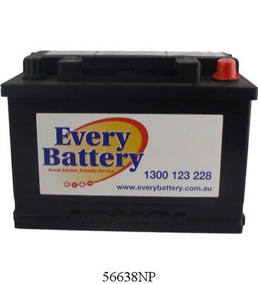 Ford Territory Car Battery 2.7 V6 D,4.0L Petrol 2011 on 56638NP 3 year warranty