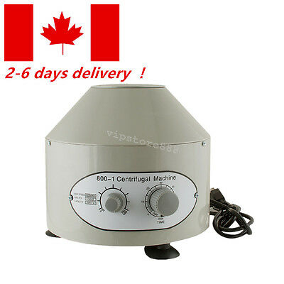 CA Electric Centrifuge Machine 4000rpm Lab Medical Practice CompleteFunction