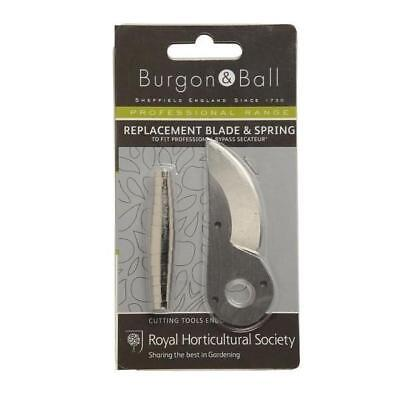 BURGON & BALL    Replacement Blade & Spring (to suit Professional Bypass Seca...