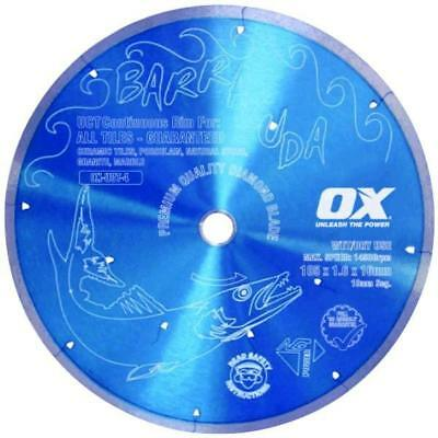 Brand New OX OX BARRACUDA UCT Continuous Rim Diamond Blade