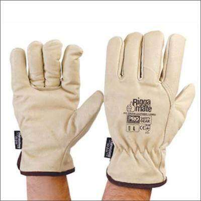 ProChoice Riggamate   Cow Grain Leather Rigger's Glove Beige