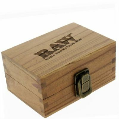 Raw Wooden Large Rolling Rollbox Tobacco Storage Smoking Box