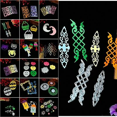 Metal DIY Cutting Dies Stencil Scrapbook Album Paper Embossing Craft Cute Sets