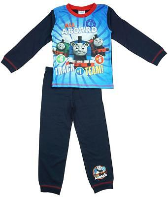 Boys Pyjamas Thomas the Tank Engine Pjs All Aboard Train 18 Months to 5 Years