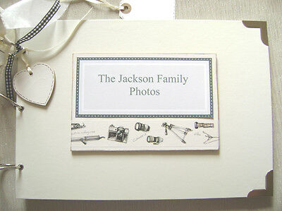 Personalised.  Family Photos A4 Size.photo Album/scrapbook/memory