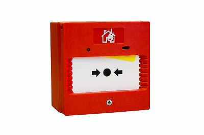 **STOCK CLEARANCE!** Fire Alarm, Self Contained Call Point Alarm, amazing value!