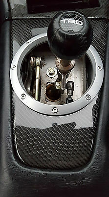 Carbon Schaltrahmen Schaltkulisse Dominator Shifter Surround Gear Trim MR2 SW20