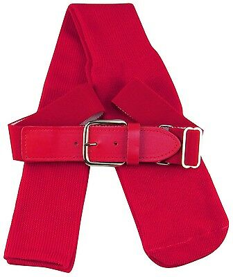 (Small, Scarlet) - TCK Sports Baseball Belt & Socks Combo Set (Youth and Adult S