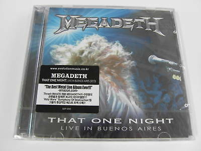 MEGADETH That One Night Live In Buenos [2 CD] (Sealed)