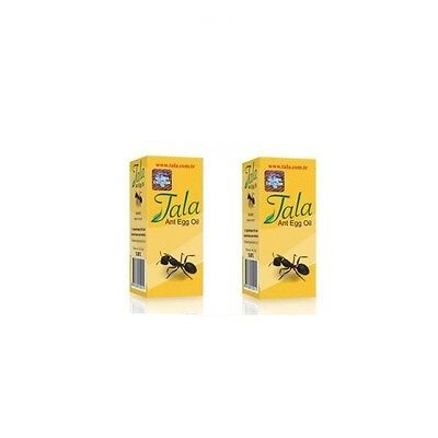2x Original 20ml Tala Ant Egg Oil Permanent Hair Removal New Date Free Shipping