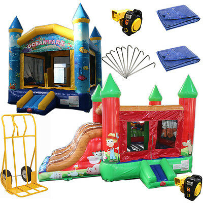 Bounce House Startup Package #3 Commercial Grade, Inflatable