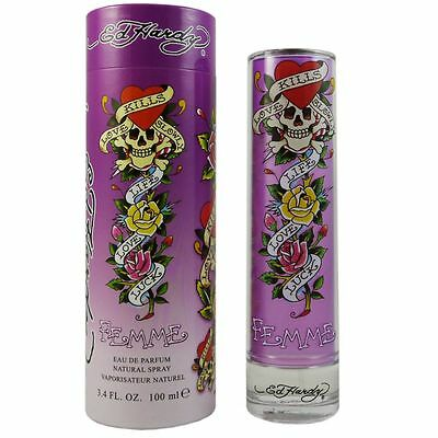 Christian Audigier Ed Hardy Femme Woman 100 ml Eau de Parfum EDP