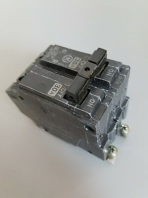 GE THQB2130, 30 Amp 2 Pole 240 Volt Circuit Breaker- NEW